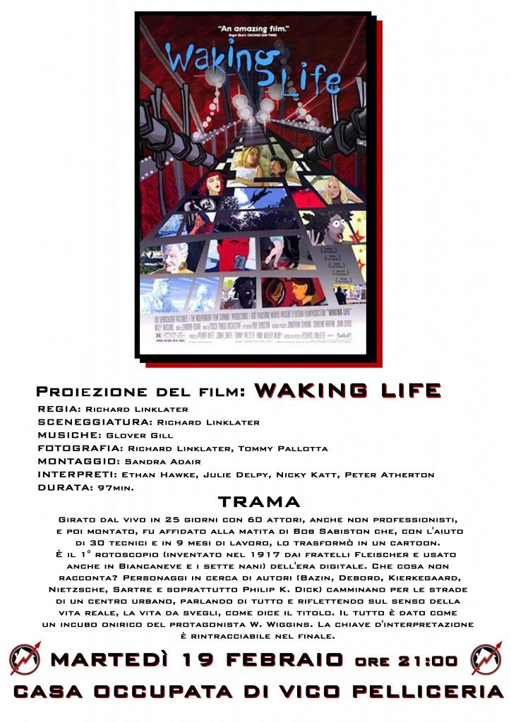 Locandina Waking life